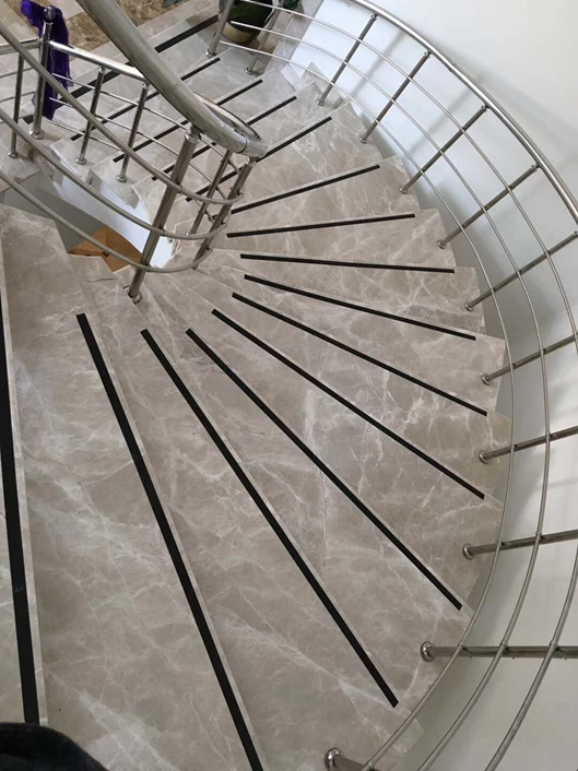 Flash Grey Marble Stairs